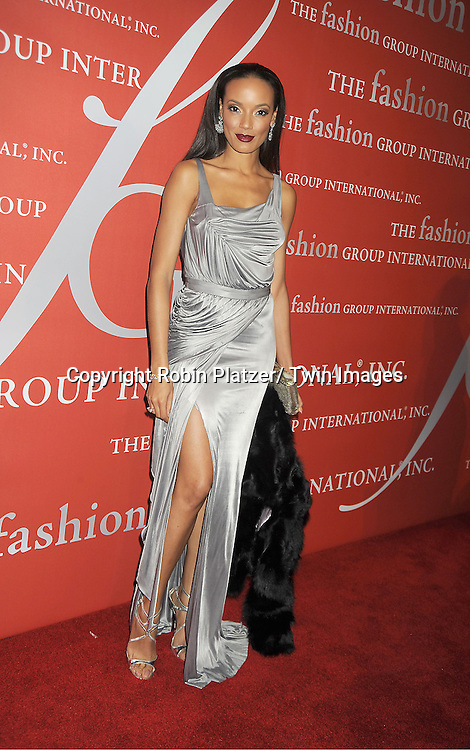 Selita Ebanks attends the Fashion Group International's 29th Annual  Night of Stars Gala on October 25, 2012 at Cipriani Wall Street in New York City.