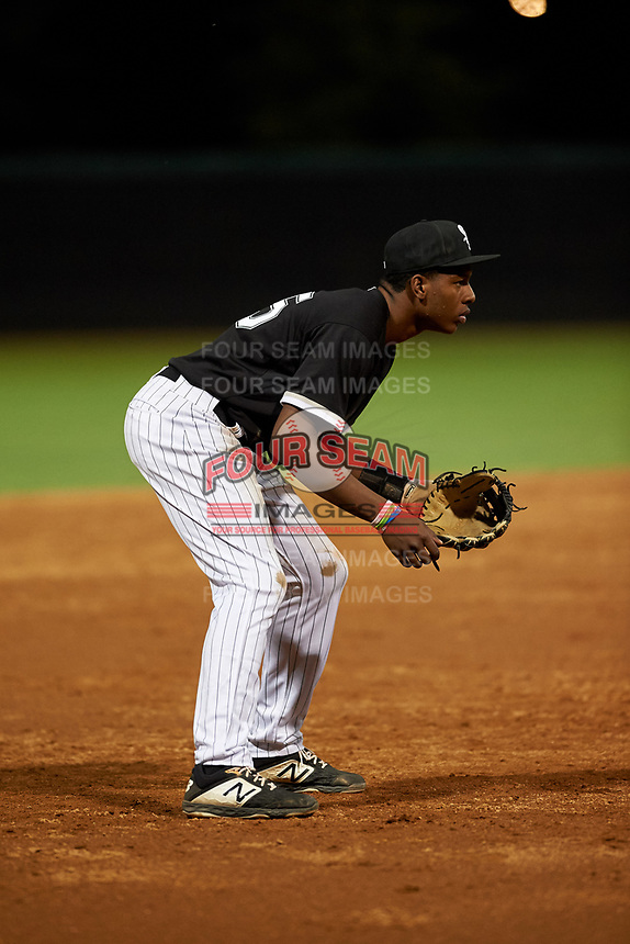 AZL White Sox third baseman DJ Gladney (25) during an Arizona League game against the AZL Dodgers Lasorda at Camelback Ranch on June 18, 2019 in Glendale, Arizona. AZL Dodgers Lasorda defeated AZL White Sox 7-3. (Zachary Lucy/Four Seam Images)