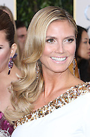 BEVERLY HILLS, CA - JANUARY 13: Heidi Klum at the 70th Annual Golden Globe Awards at the Beverly Hills Hilton Hotel in Beverly Hills, California. January 13, 2013. Credit MediaPunch Inc. /NortePhoto