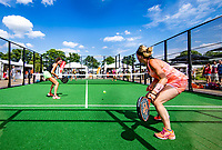 Den Bosch, Netherlands, 16 June, 2018, Tennis, Libema Open, Padle final womans<br /> Photo: Henk Koster/tennisimages.com