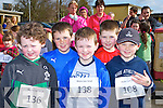 Charlie Nolan, John Daly, Cian Downey, Larry Nolan and Ayrton Burke who participated in  the Muire Gan Smál 5km in Castleisland on Sunday morning