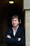 David Nicholls at Christ Church during the Sunday Times Oxford Literary Festival, UK, 2-10 April 2011. <br />