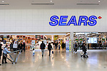 People entering Sears store in Yorkdale Shopping Centre Toronto shopping mall one of the largest shopping malls in Canada