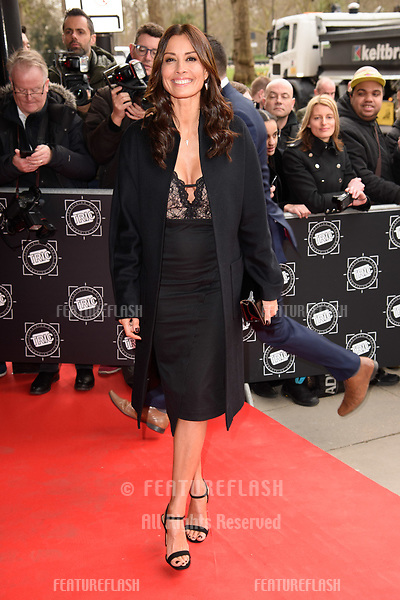 Melanie Sykes arriving for TRIC Awards 2018 at the Grosvenor House Hotel, London, UK. <br /> 13 March  2018<br /> Picture: Steve Vas/Featureflash/SilverHub 0208 004 5359 sales@silverhubmedia.com