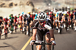 Roy Curvers (NED) Team Sunweb takes a drink during Stage 3 of the 2018 Tour of Oman running 179.5km from German University of Technology to Wadi Dayqah Dam. 15th February 2018.<br /> Picture: ASO/Muscat Municipality/Kare Dehlie Thorstad | Cyclefile<br /> <br /> <br /> All photos usage must carry mandatory copyright credit (&copy; Cyclefile | ASO/Muscat Municipality/Kare Dehlie Thorstad)
