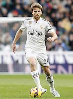 Real Madrid's Asier Illarramendi during La Liga match.January 31,2015. (ALTERPHOTOS/Acero) /NortePhoto<br /> /NortePhoto.com