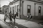 Cuba, Oriente, Santiago de Cuba:<br /> Street scenes in morning light