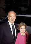 George McGovern and wife Elenor McGovern in New York City 1993..
