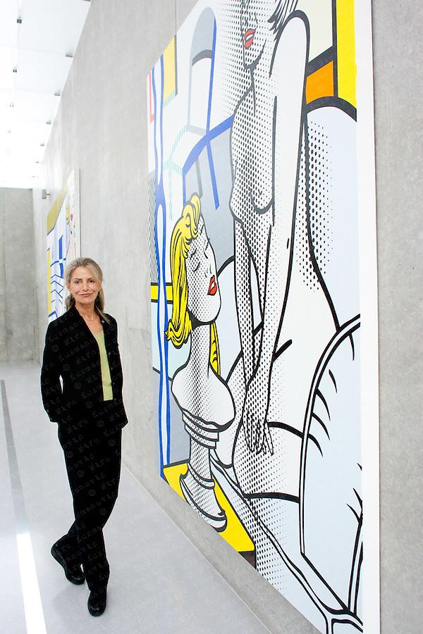 Dorothy Lichtenstein, President and Coexecutor of the Lichtenstein Estate and wife of Roy Lichtenstein,a prominent American pop artist.