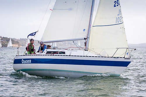 Denis Byrne's Cracker, a Trapper T250, was the Spinnaker 2 IRC in the 2019 league and also a class winner in this year's Cobh to Blackrock Race