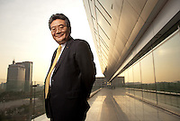 Eu-Sung Min, CEO of KDB Financial Group<br /> <br /> Photo portfolio of Kim  / Sinopix