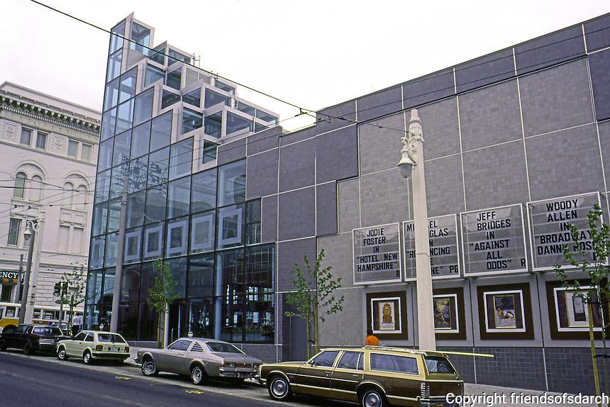 San Francisco:  Galaxy Theater, Van Ness & Sutter. Kaplan/McLaughlin/Diaz, 1984.  ($6.5M!)