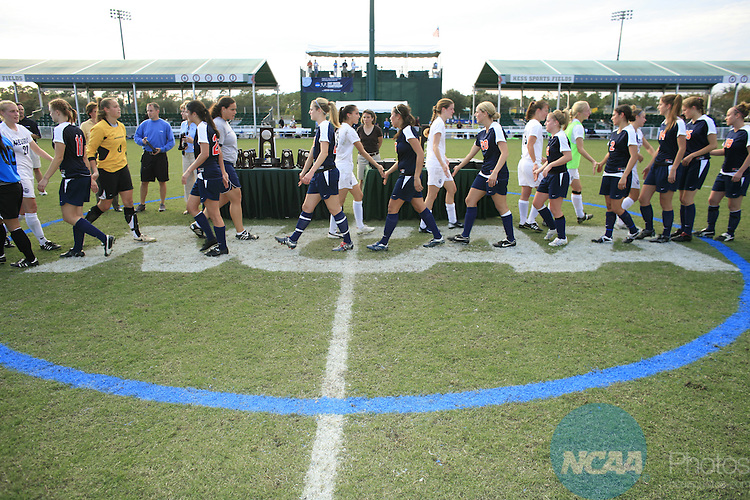 24 NOV 2007: Wheaton defeated Messiah 1-0 for the championship title at the Division III Women's Soccer Championship held at Disney's Wide World of Sports Complex in Orlando, FL. Chris Livingston/NCAA Photos