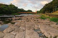 PIRACICABA, SP - 03.02.14 - Rio de Piracicaba. Vista do Rio de Piracicaba que enfrenta a sua maior estiagem dos últimos 97 anos. ( Foto: Mauricio Bento / BrazilPhotoPress )