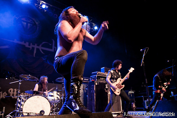 Live concert photo of Valient Thorr @ Congress Theater Chicago by http://www.justingillphoto.com