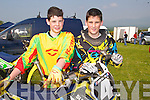 MOTOCROSS: Enjoying the Motocross Championships in Milltown on Saturday were Josh Hanlon and James McCarthy.   Copyright Kerry's Eye 2008