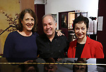 Karen Ziemba, Stephen Flaherty and Lynn Ahrens during the Sneak Peek Presentation for 'Marie, Dancing Still - A New Musical'  at Church of Saint Paul the Apostle in Manhattan on March 4, 2019 in New York City.