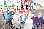 FED UP: Ballylongford residents who are fed up with flooding in the village and the absence of a new sewerage plant for the area, front l-r: Billy Enright, Sheila O'Carroll, John Fitzell, Joan Barrett, Noella Kelly, Noel Lynch. Back l-r: Michael Horgan, Billy O'Shea, Mamie Kearney, Deirdre Finucane, Eileen Mulvihill.