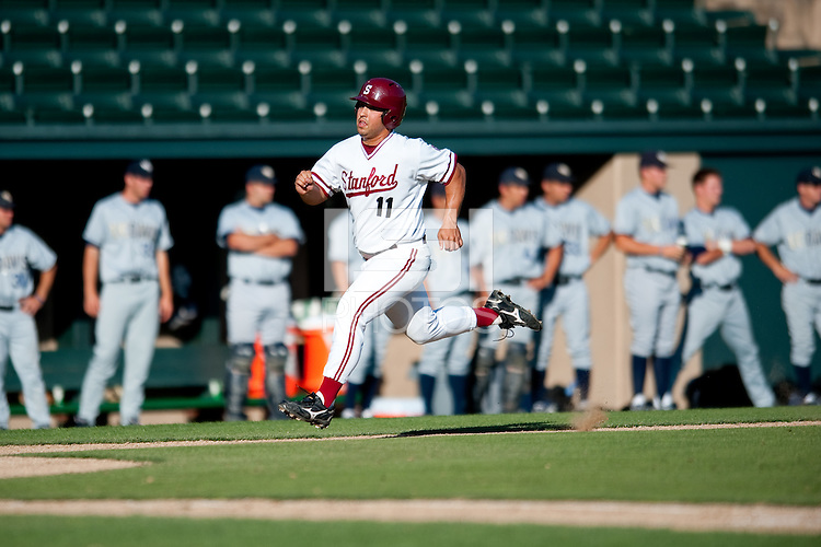 STANFORD, CA-MAY 10, 2011- Stanford defeats the UC Davis Aggies at Sunken Diamond.