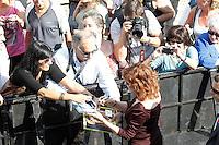 """SAN SEBASTIAN-DONASTIA, ESPANHA, 21 SETEMBRO 2012 - FESTIVAL DE CINEMA DE SAN SEBASTIAN DONOSTIA - A atriz Susan Sarandon durante dilvugacao do filme """"The Holes"""" durante o Festival de Cinema de San Sebastian Donostia na Espanha , nesta sexta-feira, 21. (FOTO: ALFAQUI / BRAZIL PHOTO PRESS)"""