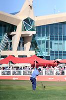 David Law (SCO) on the 18th during the 3rd round of the Abu Dhabi HSBC Championship, Abu Dhabi Golf Club, Abu Dhabi,  United Arab Emirates. 18/01/2020<br /> Picture: Fran Caffrey | Golffile<br /> <br /> <br /> All photo usage must carry mandatory copyright credit (© Golffile | Fran Caffrey)