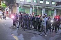 RIO DE JANEIRO, RJ 13.02.2014 - PROTESTO RIO DE JANEIRO - Manifestação contra ao aumento das passagens de onibus na regiao central da cidade do Rio de Janeiro.(Foto: Nicson Olivier/Brazil Photo Press)