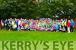 The Killarney Valley AC  members with Sonia O'Sullivan in Killarney on Sunday