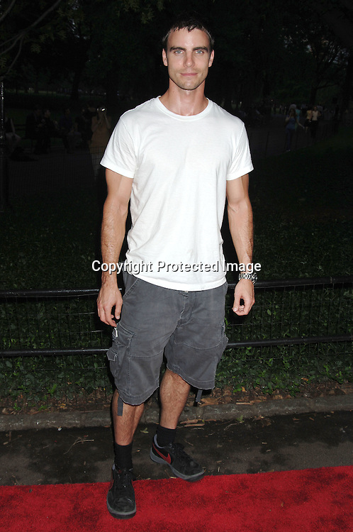 Colin Egglesfield..arriving at The Public Theatre's Summer Gala honoring Kevin Kline and Meryl Streep at The Opening NIght of MacBeth at Shakespeare in the Park on June 28, 2006. ..Robin Platzer, Twin Images