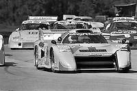 SEBRING, FL - MARCH 20: Fastest qualifier Bobby Rahal drives the March 82G 1/Chevrolet on the parade lap for the 12 Hours of Sebring on March 20, 1982, at Sebring International Raceway near Sebring, Florida.