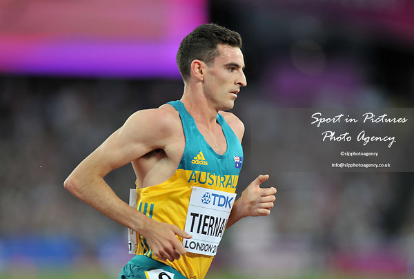 Patrick TIERNAN (AUS) in the mens 5000m final. IAAF world athletics championships. London Olympic stadium. Queen Elizabeth Olympic park. Stratford. London. UK. 12/08/2017. ~ MANDATORY CREDIT Garry Bowden/SIPPA - NO UNAUTHORISED USE - +44 7837 394578