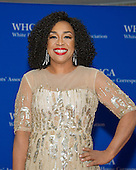 Shonda Rhimes arrives for the 2016 White House Correspondents Association Annual Dinner at the Washington Hilton Hotel on Saturday, April 30, 2016.<br /> Credit: Ron Sachs / CNP<br /> (RESTRICTION: NO New York or New Jersey Newspapers or newspapers within a 75 mile radius of New York City)