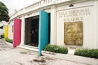 The Sala Nacional de Exposiciones in Parque Cuscatlan, San Salvador, El Salvador