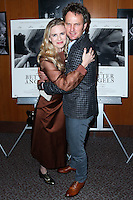 LOS ANGELES, CA, USA - OCTOBER 27: Brit Marling, Jason Clarke arrive at the Los Angeles Premiere Of Amplify's 'The Better Angels' held at the Directors Guild Of America on October 27, 2014 in Los Angeles, California, United States. (Photo by Xavier Collin/Celebrity Monitor)