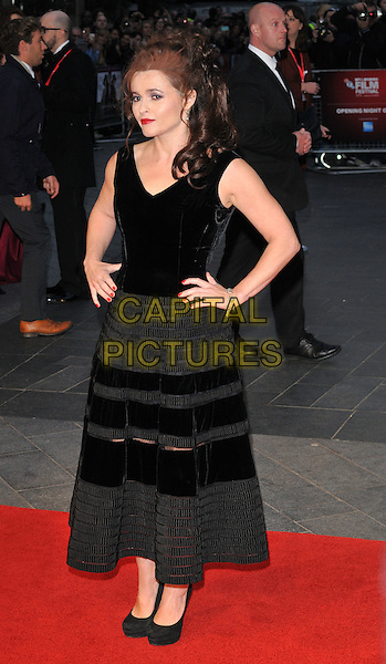 Helena Bonham-Carter attends the 59th BFI London Film Festival 2015 &quot;Suffragette&quot; opening gala, Odeon Leicester Square cinema, Leicester Square, London, England, UK, on Wednesday 07 October 2015. <br /> CAP/CAN<br /> &copy;Can Nguyen/Capital Pictures