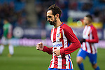 "Atletico de Madrid's Juanfran Torres  during the match of ""Copa del Rey"" between Atletico de Madrid and Gijuelo CF at Vicente Calderon Stadium in Madrid, Spain. december 20, 2016. (ALTERPHOTOS/Rodrigo Jimenez)"