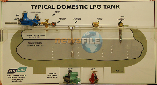 Typical Domestic Lpg Tank.Flo Gas..Photo Fran Caffrey Newsfile.ie..This Picture has been sent to you by Newsfile Ltd..The Studio,.Millmount Abbey,.Drogheda,.Co. Meath,.Ireland..Tel: +353(0)41-9871240.Fax: +353(0)41-9871260.ISDN: +353(0)41-9871010.www.newsfile.ie..general email: pictures@newsfile.ie