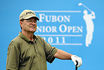 TAIPEI, TAIWAN - NOVEMBER 19:  John Benda of USA stands on the 10th tee during day two of the Fubon Senior Open at Miramar Golf & Country Club on November 19, 2011 in Taipei, Taiwan.  Photo by Victor Fraile / The Power of Sport Images