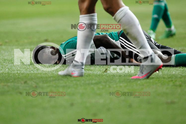 Real Betis´s N´diaye during La Liga match at Santiago Bernabeu stadium in Madrid, Spain. August 29, 2015. (ALTERPHOTOS/Victor Blanco)