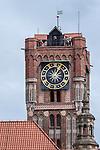 Toruń (województwo kujawsko-pomorskie) 22-07-2016. Toruński Ratusz Staromiejski to architektura gotycka światowej klasy, obecnie mieści się tam siedziba Muzeum Okręgowego.