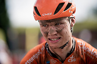 Jesper Asselman's (NED/Roompot - Charles) post-race face<br /> <br /> Dwars door het Hageland 2019 (1.1)<br /> 1 day race from Aarschot to Diest (BEL/204km)<br /> <br /> ©kramon