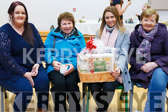 Attending the Blennerville Community Playschool fundraiser in Blennerville National School on Thursday evening last, l-r  Laura Smith, Mary Bailey, Jennifer Bailey and Eilleen Flynn.