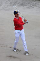 Justin Thomas (USA) on the 10th during the First Round - Four Ball of the Presidents Cup 2019, Royal Melbourne Golf Club, Melbourne, Victoria, Australia. 12/12/2019.<br /> Picture Thos Caffrey / Golffile.ie<br /> <br /> All photo usage must carry mandatory copyright credit (© Golffile | Thos Caffrey)