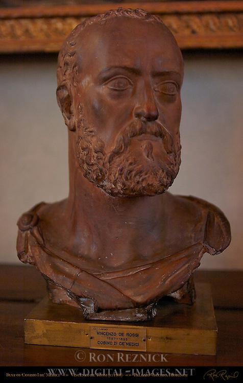 Cosimo I de' Medici de'Rossi Palazzo Vecchio Florence