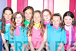 Raphaelle Ares, Allanna Piggott, Ciara O'Sullivan, Chloe Coffey, Louise McGillicuddy, Danielle Garland and Emma O'Shea having fun at the Killorglin Acting and Music academy extravaganva in the CYMS Killorglin on Sunday   Copyright Kerry's Eye 2008