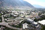 1309-22 0275<br /> <br /> 1309-22 BYU Campus Aerials<br /> <br /> Brigham Young University Campus West looking East, Provo, Sunrise, Y Mountain,  Hinckley Alumni and Visitors Center HC, Tanner Building TNRB, Abraham Smoot Building ASB, Jesse Knight Building JKB, Talmage Building TMCB,  <br /> <br /> September 6, 2013<br /> <br /> Photo by Jaren Wilkey/BYU<br /> <br /> &copy; BYU PHOTO 2013<br /> All Rights Reserved<br /> photo@byu.edu  (801)422-7322