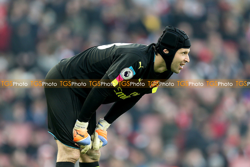 Petr Cech of Arsenal during Arsenal vs Burnley, Premier League Football at the Emirates Stadium on 22nd January 2017