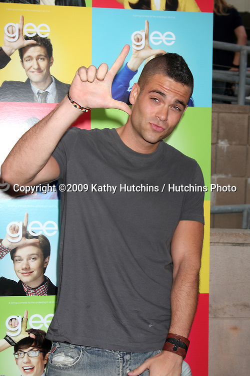Mark Salling arriving at the Glee Premiere Event at the Santa Monica High School in Santa Monica , CA  on May 11, 2009.©2009 Kathy Hutchins / Hutchins Photo.....                .