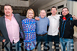 Come Dine With Me : Attending the Come dine With Me event at the Listowel Arms Hotel in aid of Listowel Emmets on Saturday night last were John Healy, Aisling O'Brien, John James Buckley, Brendan Guiney & Sean McAuliffe.