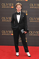 Martha Plimpton at the Olivier Awards 2019, Royal Albert Hall, Kensington Gore, London, England, UK, on Sunday 07th April 2019.<br /> CAP/CAN<br /> ©CAN/Capital Pictures