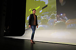 Romain Bardet (FRA) introduced on stage at the Tour de France 2020 route presentation held in the Palais des Congrès de Paris (Porte Maillot), Paris, France. 15th October 2019.<br /> Picture: Eoin Clarke | Cyclefile<br /> <br /> All photos usage must carry mandatory copyright credit (© Cyclefile | Eoin Clarke)